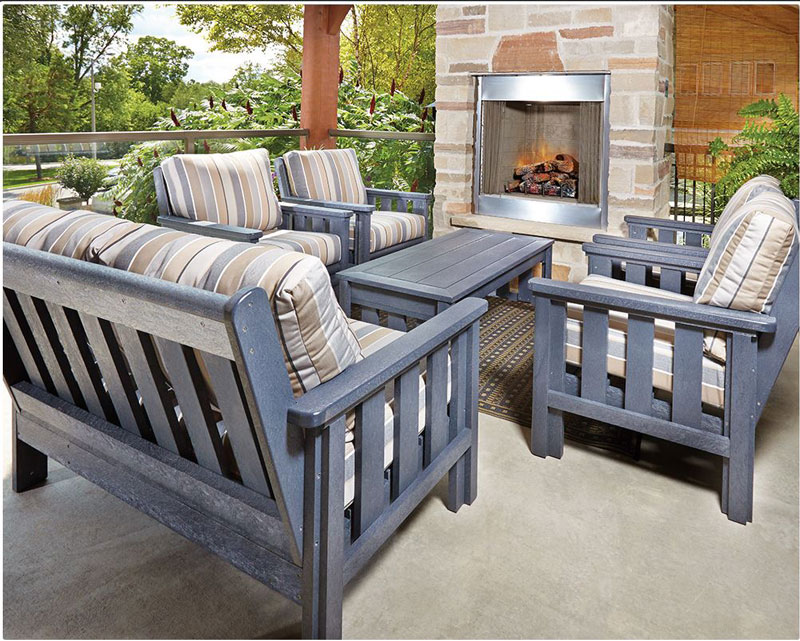 CRP Products Recycled Poly Outdoor Furniture - Backyard ...